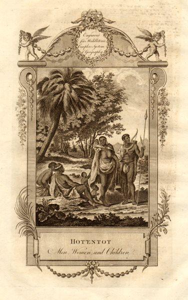 Associate Product Hottentot men, women & children. Khoikhoi. Southern Africa. MIDDLETON 1779