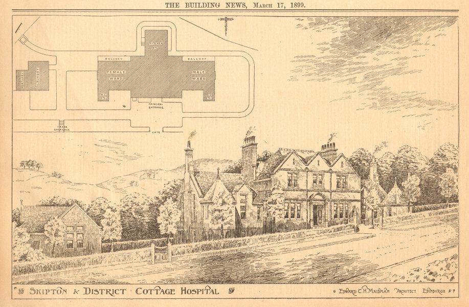 Associate Product Skipton & District Cottage hospital, Edward Maidman, Architect. Yorkshire 1899
