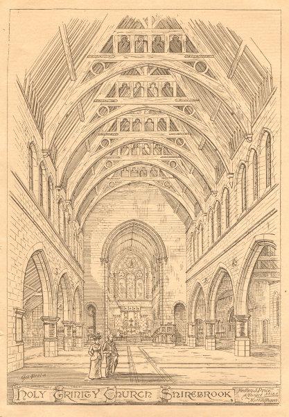 Associate Product Holy Trinity Church (1), Shirebrook, Hedley J. Price Architect. Derbyshire 1899
