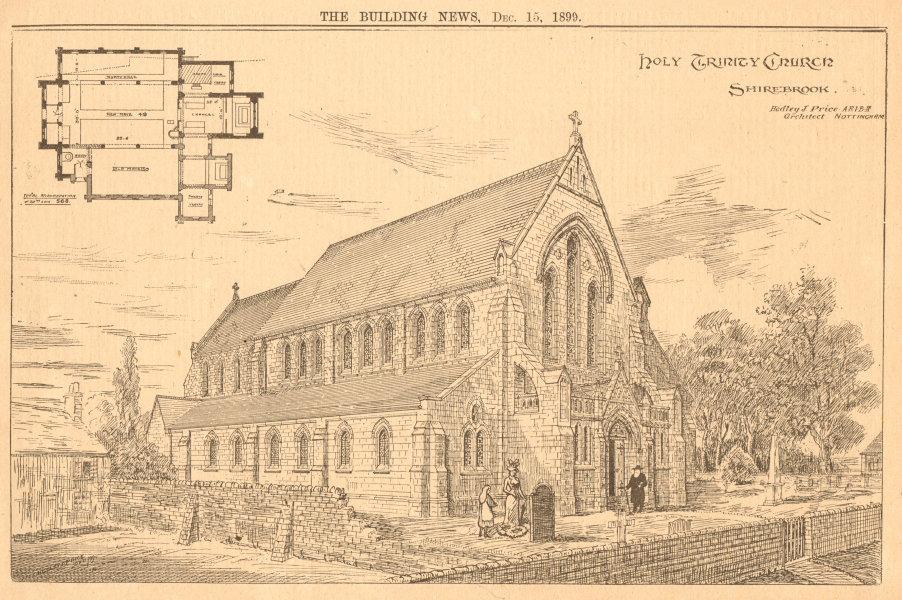 Associate Product Holy Trinity Church (2), Shirebrook, Hedley J. Price Architect. Derbyshire 1899