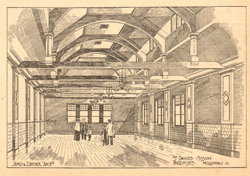 Associate Product St Davids mission premises, Holloway, James & Laycock, Architects. London 1904