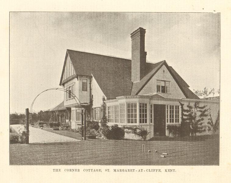 Associate Product The Corner Cottage, Hotel & Granville Road, St. Margaret-at-Cliffe, Kent 1906