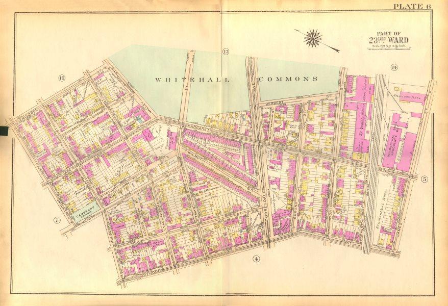 Associate Product PHILADELPHIA. Frankford. Whitehall Margaret Orthodox Mulberry. BROMLEY 1929 map