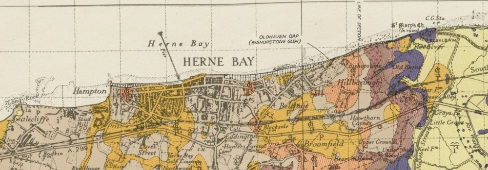 Faversham geological survey sheet 273 Sheppey Whitstable Herne Bay