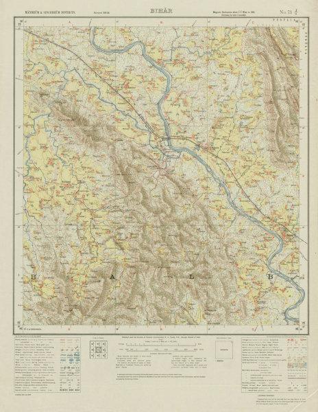 Associate Product SURVEY OF INDIA 73 J/6 Jharkhand Kalikapur Ghatshila Mahulia Musabani 1927 map