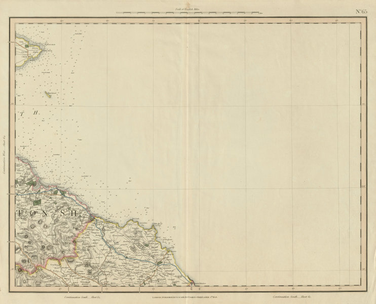 Associate Product Firth of Forth. Crail, Fife Ness, Dunbar & Eyemouth. John & George Cary 1832 map