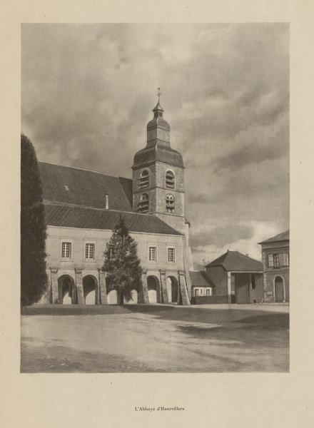 Associate Product L'Abbaye d'Hautvillers, home of Dom Pérignon. Champagne 1944 old vintage print