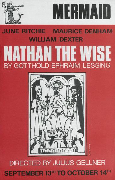 Associate Product Mermaid Theatre. Nathan the Wise. Gotthold Ephraim Lessing. Julius Gellner 1970