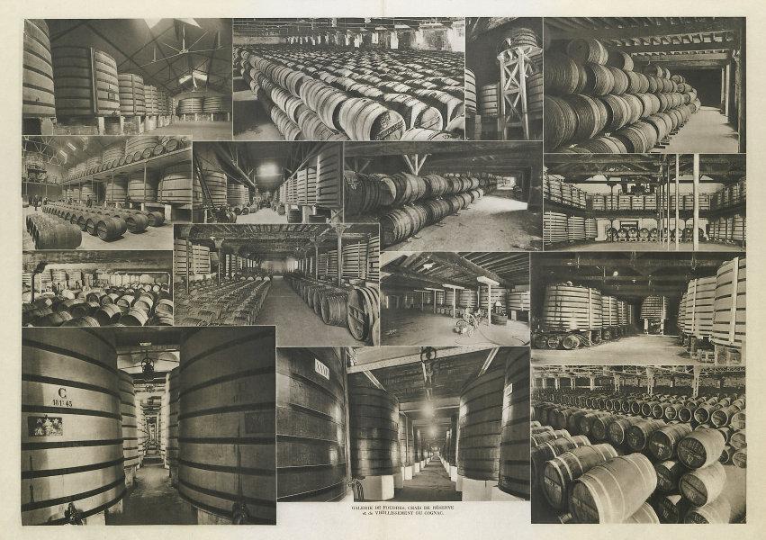 Galerie de Foudres, Chais de Réserve & de vieillissement du Cognac. Cellars 1947