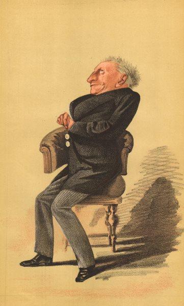 Associate Product VANITY FAIR SPY CARTOON. Alexander William Kinglake 'Not an MP'. Writers. 1872
