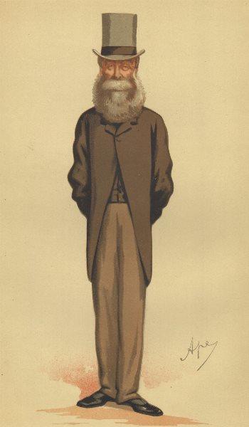 Associate Product VANITY FAIR SPY CARTOON. Clare Sewell Read 'A tenant Farmer'. Norfolk. Ape. 1875