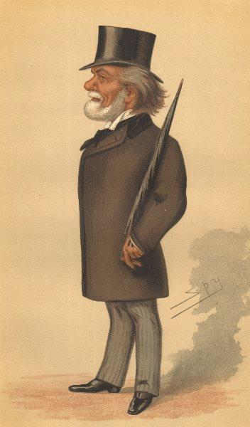 Associate Product SPY CARTOON. Theodore Martin 'The Royal Literary assistant'. Scotland. Spy. 1877