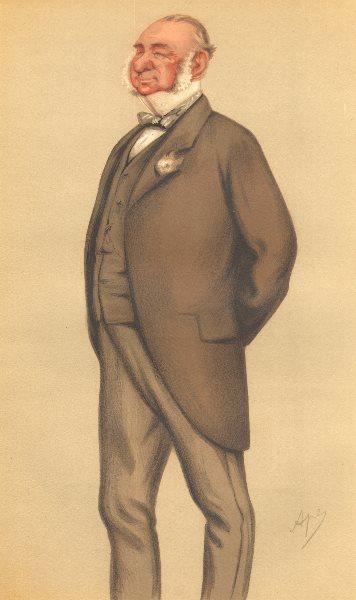 Associate Product VANITY FAIR SPY CARTOON. Henry Villebois 'The Squire'. Norfolk. By Ape. 1877