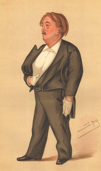 Associate Product VANITY FAIR SPY CARTOON. M Paul Gustave Doré 'sensational art'. Artists. 1877