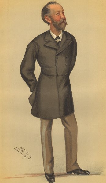 Associate Product SPY CARTOON. Sir Evelyn Wood 'the Flying Column'. Militaria. Indian Mutiny. 1879