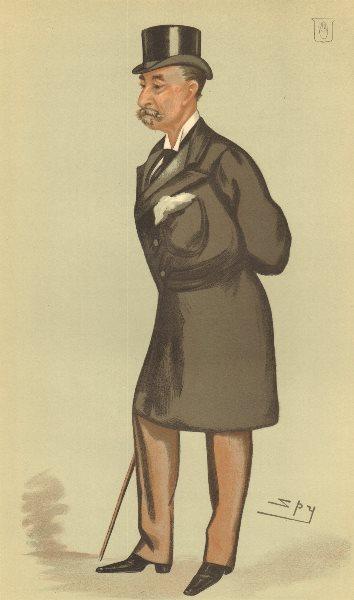 Associate Product VANITY FAIR CARTOON. Sir Henry Ainslie Hoare 'reformed Radical'. Finance. 1883