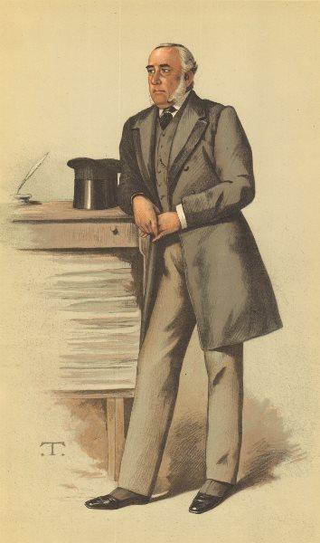 Associate Product VANITY FAIR CARTOON. Sir Julian Pauncefote 'The Foreign Office'. Hong Kong. 1883