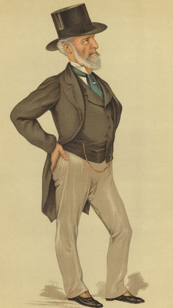 Associate Product VANITY FAIR SPY CARTOON. Charles C Tennant 'Glasgow'. Scotland. By VER. 1883