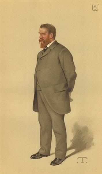 Associate Product VANITY FAIR SPY CARTOON. Sir Edmund Lechmere 'St John of Jerusalem'. Glos. 1883