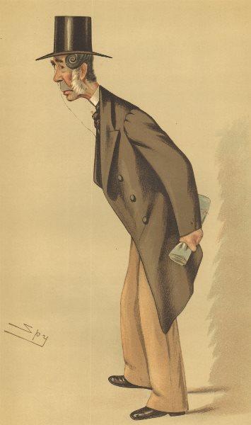 Associate Product VANITY FAIR SPY CARTOON. John Hinde Palmer QC 'Lincoln'. Lincs. By Spy. 1883