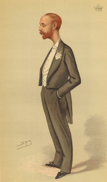 Associate Product VANITY FAIR SPY CARTOON. The Earl of Onslow 'a Parliamentary Title'. Peers. 1883