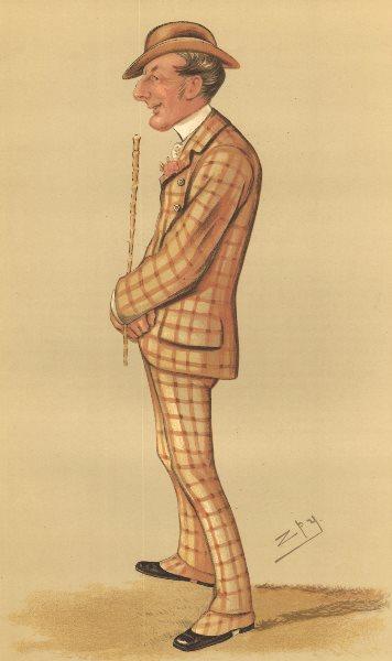 Associate Product VANITY FAIR CARTOON. Henry Reginald Corbet 'Born in the Scarlet'.Fox hunter 1883