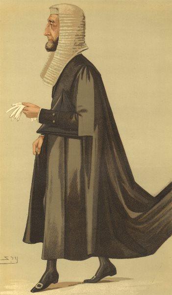 Associate Product VANITY FAIR SPY CARTOON. Arthur Wellesley Peel 'The Speaker'. Warcs. Spy. 1887