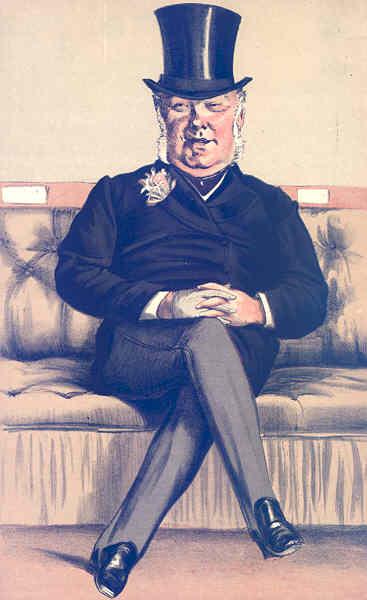 Associate Product VANITY FAIR SPY CARTOON. Henry William Eaton 'Silk'. Warcs. By Coidé. 1871
