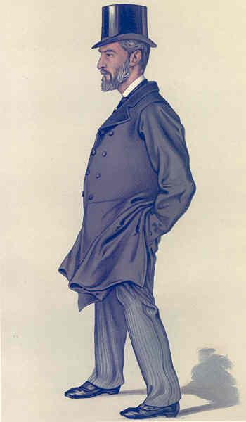 VANITY FAIR SPY CARTOON. Thomas Thornhill 'Tom'. Norfolk. By VER. 1883