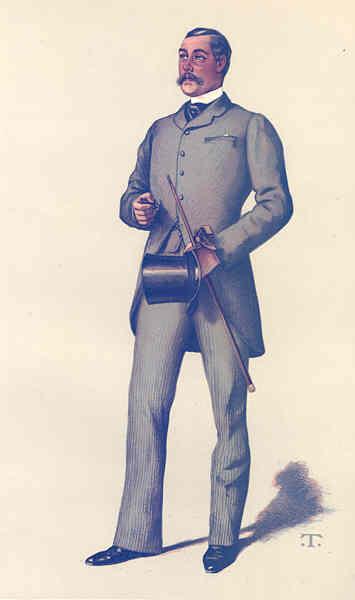 Associate Product VANITY FAIR SPY CARTOON. Lt-Col Ralph Vivian 'Ralph'. Cornwall. By T. 1883