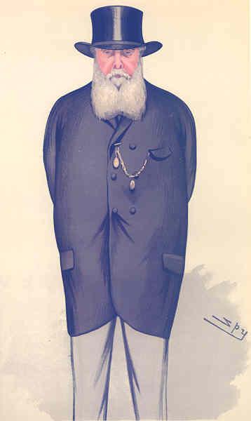 Associate Product VANITY FAIR SPY CARTOON. Thomas Charles Bruce 'Portsmouth'. Hants. By Spy. 1882