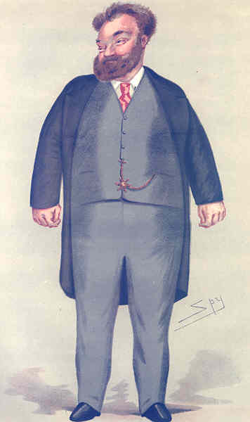 Associate Product VANITY FAIR SPY CARTOON. Valentine C Prinsep. Artists. By Spy. caricature 1877