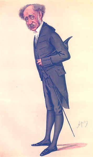 Associate Product VANITY FAIR SPY CARTOON. Gen Sir William Thomas Knollys 'Black Rod'. Oxon. 1877