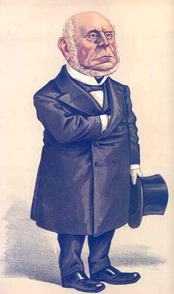 Associate Product VANITY FAIR SPY CARTOON. CF Adams 'An Arbitrator'. USA. By Nast. 1872